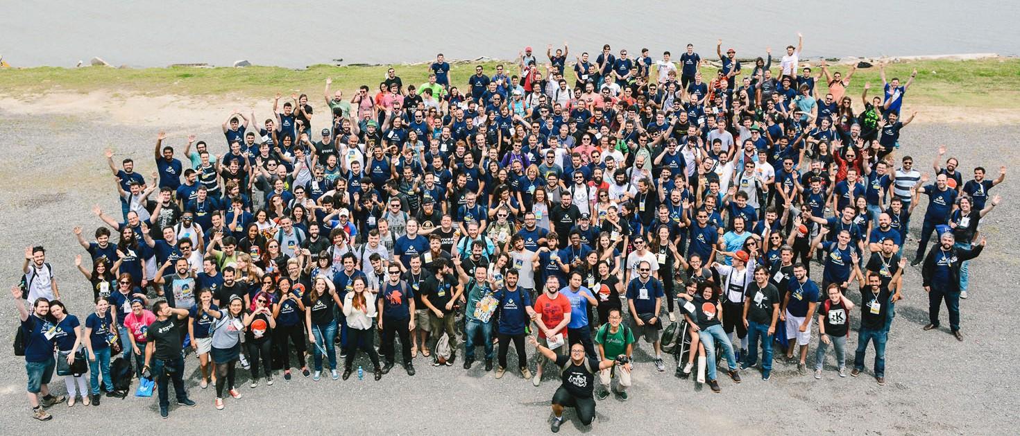 Foto Oficial da Python Brasil 12 em Florianopolis